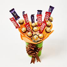 Chocolates Trio Arrangement: Kids Gift Ideas