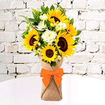 Sunflower Galore Bunch: Flower Delivery